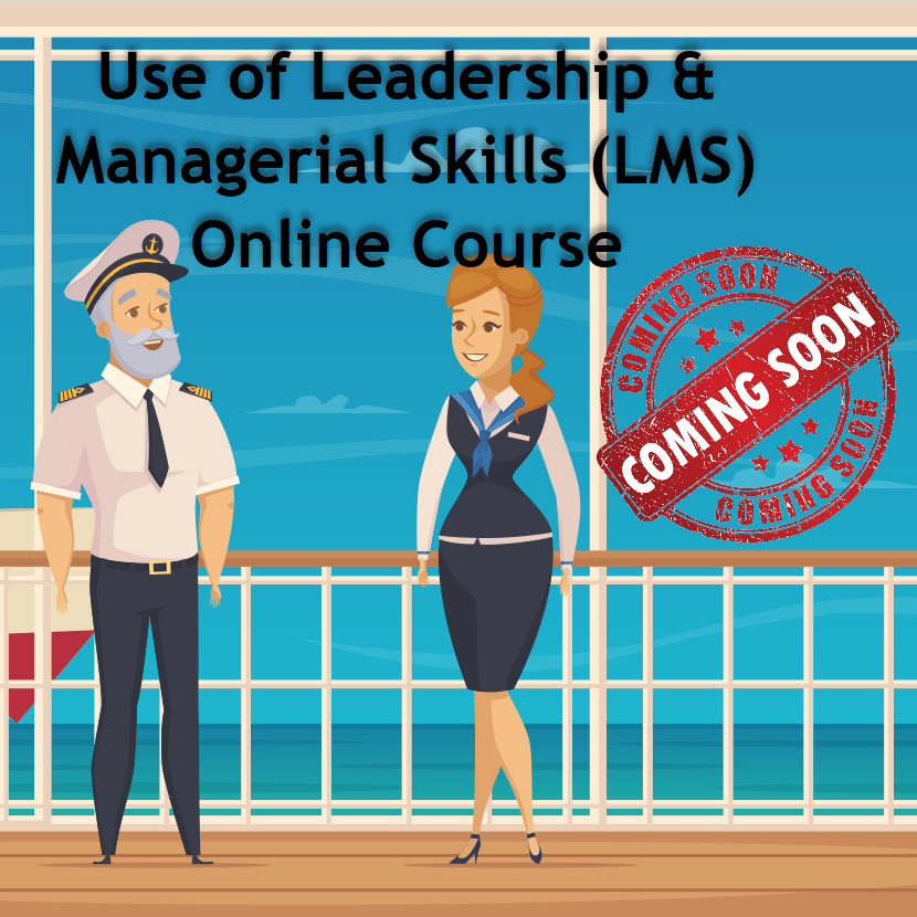 Use of Leadership and Managerial Skills (LMS) – Online Course – Coming Soon –
