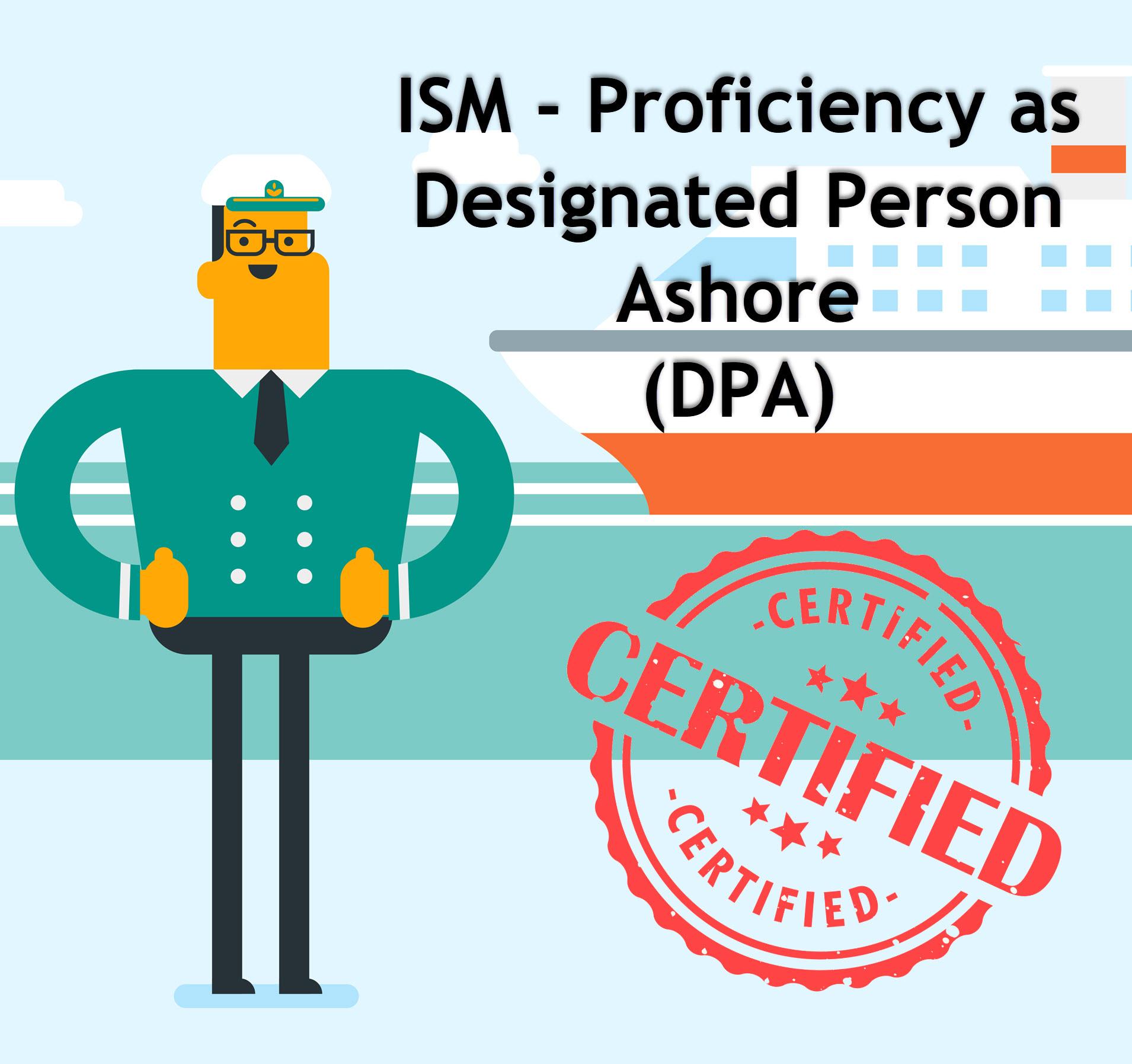Designated Person Ashore (DPA) Online Course